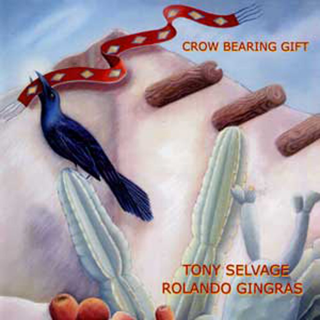 Crow Bearing Gift by Tony Selvage
